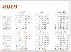 Kalendarz biurowy 2019 BF5 Biuwar duży terminarz Lucrum