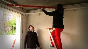 porte garage laterale coulissante youtube With porte garage coulissante pvc