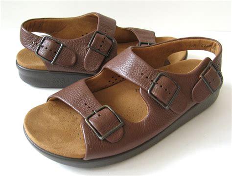Sas Shoes Boston by Closet Sas Huggy Sandals Brown Soft Sas Sandals
