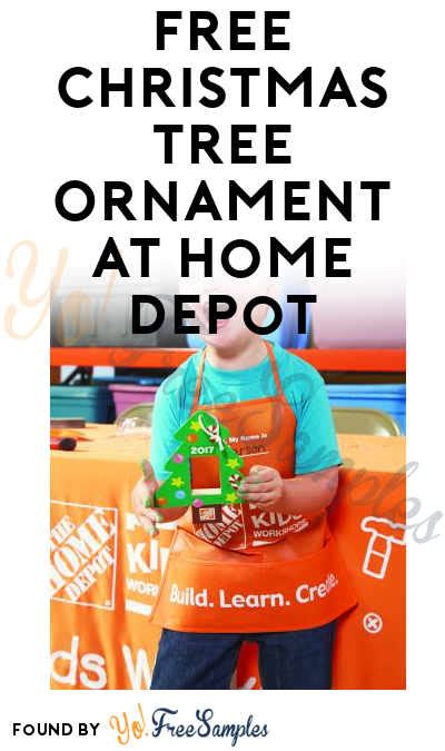 christmas tree coupons home depot free tree ornament at home depot on november 25th 2017 9am 12pm yo free sles