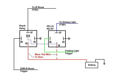 Relay Wiring Lights Page