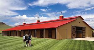 horse barns triton horse barn solid wall aisle horse With 6 stall horse barn cost