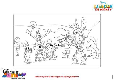 les coloriages la maison de mickey du dessin anim 233 la maison de mickey sur m6 kid