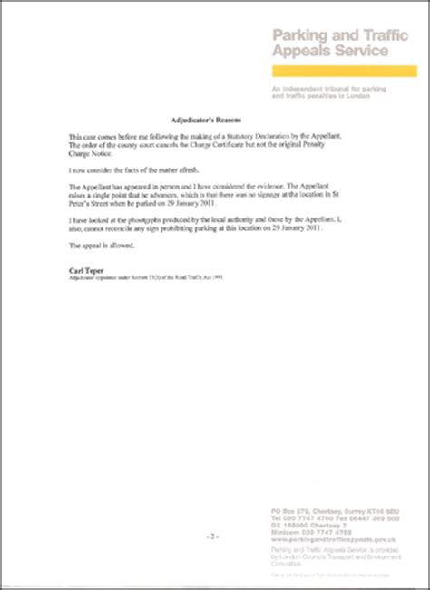 write appeal letter  toll violation