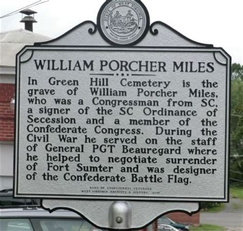 william porcher miles historical marker
