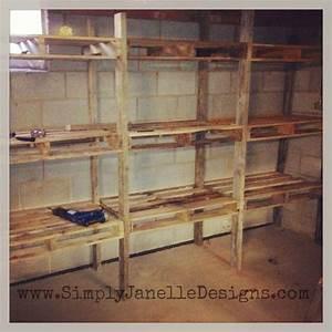 17 Best ideas about Pallet Shelves on Pinterest Pallet