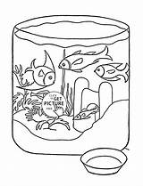 Coloring Pages Fish Pet Animal Wuppsy Printable Printables sketch template