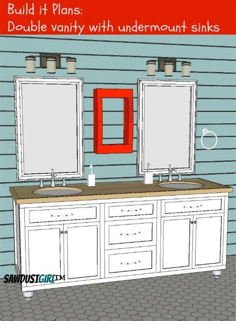 bathroom vanity   easy plans  https