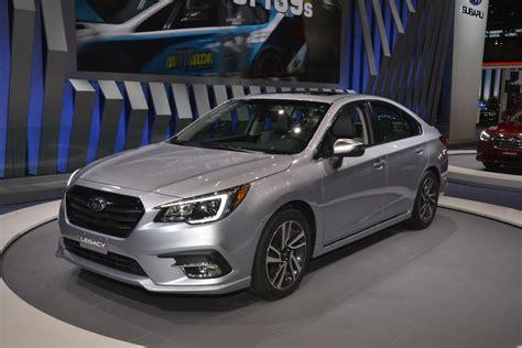 subaru legacy brings subtlety  chicago auto show