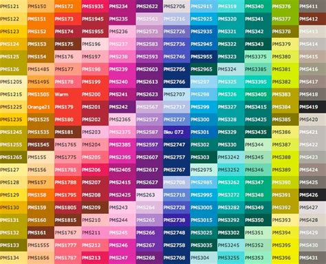 Best 25+ Pms Color Chart Ideas On Pinterest