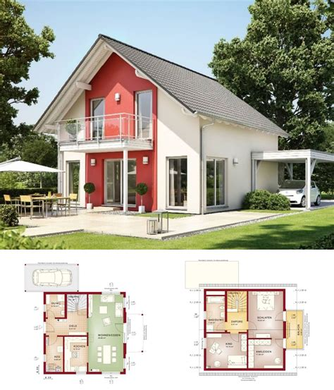 Einfamilienhaus Classic Living 125 by Einfamilienhaus Modern Satteldach Haus Solution 125 V5
