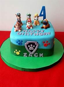 Paw Patrol Fondant Cakes - Fondant Cake Images