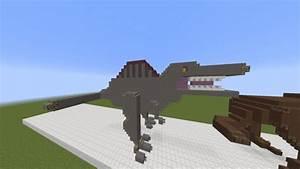 Dinosaur Statues Minecraft Project