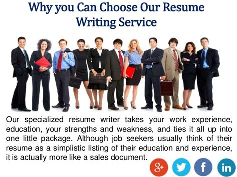 choose resume writing service at 9amjobs