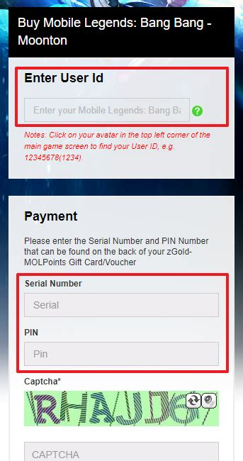 mobile legends top up how to top up mobile legends with zgold molpoints news