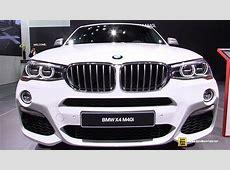 2017 BMW X4 M40i Exterior and Interior Walkaround