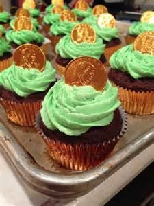 St. Patrick's Day Cupcake Idea