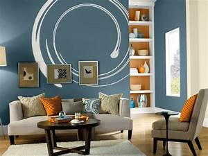 50 Farbige Wände, welche der zeitgenössischen Wohnung