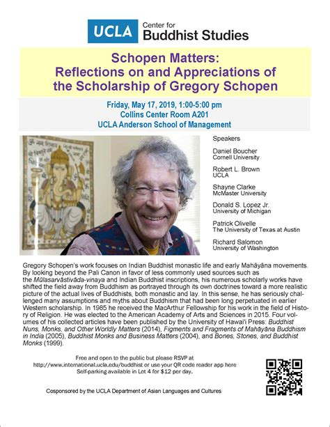 Schopen Matters: Reflections on and Appreciations of the Scholarship of Gregory Schopen - Asian ...