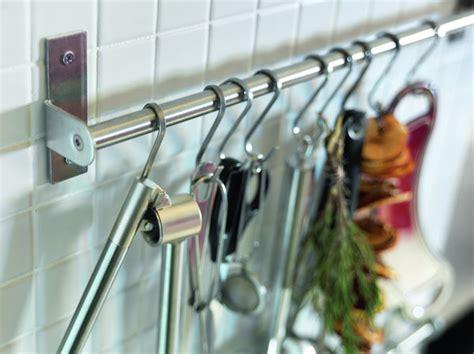 barre inox cuisine barre pour ustensile de cuisine maison design bahbe com