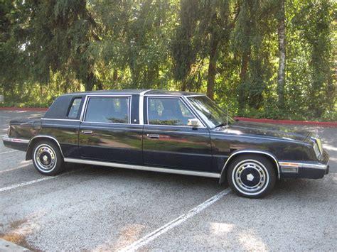 chrysler lebaron executive limousine   miles