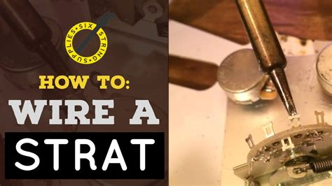 How Wire Stratocaster Grounding Pickups Way