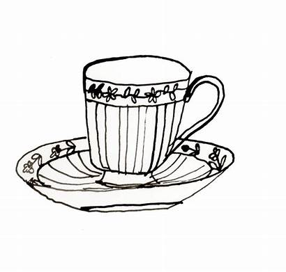 Saucer Drawing Cup Clipartmag