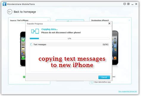 do text messages transfer to new iphone transfer sms from iphone to iphone