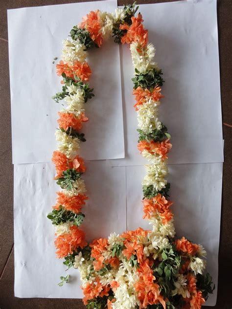 wedding garlands jadai designs puberty garlands jasmine