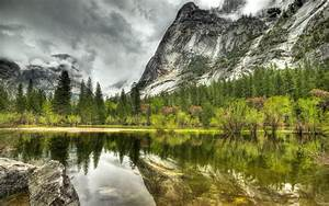 beautiful, mountain, lake, wallpaper