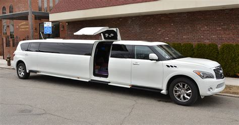 Limo Rental Nyc by 20 Passenger Infiniti Qx56 Limo Rental Services In Nyc