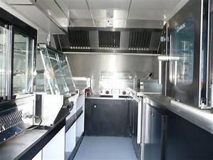 Aménagement Intérieur Caravane : amenagement interieur food truck kel occaz ~ Nature-et-papiers.com Idées de Décoration