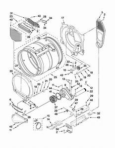 Amana Model Ned7500vw1 Residential Dryer Genuine Parts