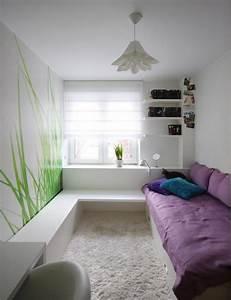 Kleines Kinderzimmer Ideen : kleines kinderzimmer einrichten ideen maedchen weisse moebel einzelbett fototapete gras ~ Orissabook.com Haus und Dekorationen