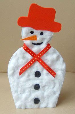 snowman childrens project glitter monster craft blog