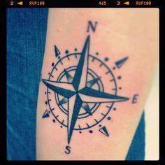 Rose Des Vents Tattoo Tatouage Boussole Rose Des Vents