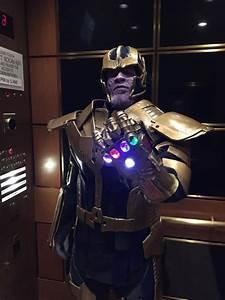 Thanos, Cosplay, With, Glowing, Infinity, Gauntlet, U00ab, Adafruit