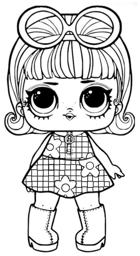 lol surprise dolls series  coloring pages images  pinterest