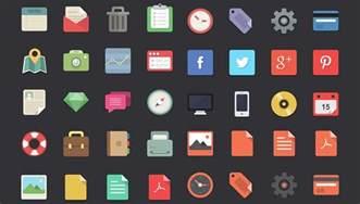 designer depot free 48 flat designer icons webdesigner depot