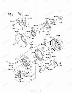 Kawasaki Atv 2001 Oem Parts Diagram For Rear Hub