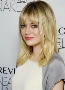 Frange Cheveux Mi Long : comment porter la coiffure avec frange ~ Melissatoandfro.com Idées de Décoration