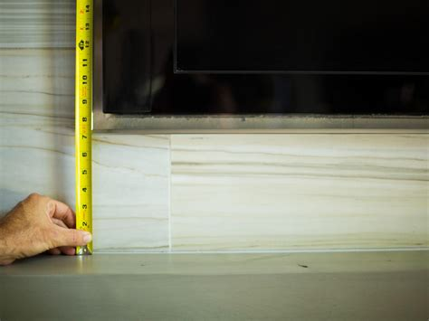 installing  tv   fireplace home remodeling