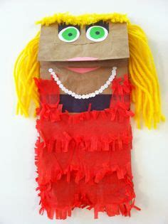 paper bag puppets images preschool crafts art