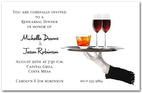 Business Cocktail Party Invitation Templates