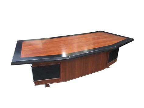 Monteverdi Young Massive Executive Desk With Leather