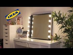 Miroir Avec Lumière Autour : revue lampe pour maquillage ikea musik youtube ~ Melissatoandfro.com Idées de Décoration