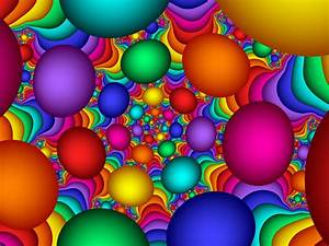 Colorful, Bubbles, Multicolor, Abstract, Background, Wallpapers