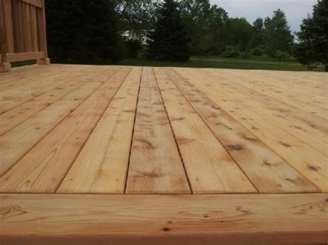 lasting cedar deck stain wait for weather to stain a new cedar deck