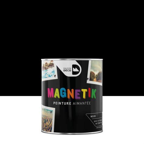 tableau magnetique cuisine peinture magnétique noir maison deco magnétik c 39 est génial 0 5 l leroy merlin
