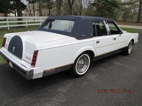 auto air conditioning repair 1986 lincoln town car navigation system classic 1986 lincoln town car signature sedan 4 door 5 0l for sale detailed description and photos